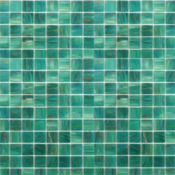 Mosaik golden light green 2x2cm