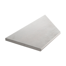 Klinker Bricmate Z Limestone Light Grey Pool Inner Corner Left 30x60 cm