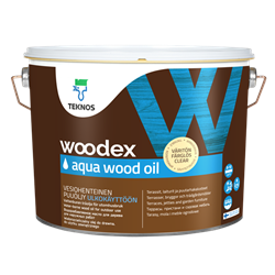 Träolja Woodex Aqua Wood Oil Teknos