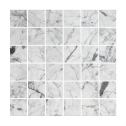 Marmormosaik Bricmate U4848 Carrara Polished