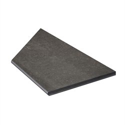 Klinker Bricmate Z Limestone Anthracite Pool Inner Corner Right 30x60 cm