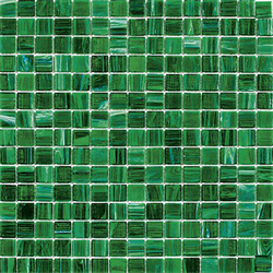 Mosaik golden green 2x2cm