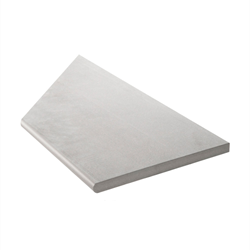 Klinker Bricmate Z Limestone Light Grey Pool Inner Corner Right 30x60 cm
