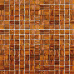 Mosaik golden copper 2x2cm